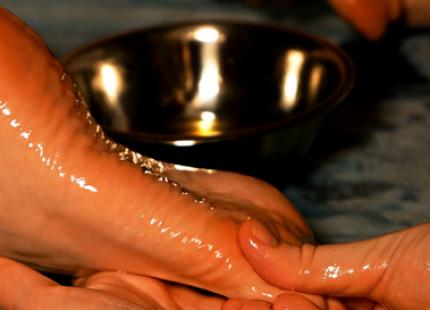 Massage pieds ayurveda by elodie